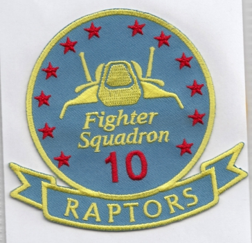 Raptor Pilot Fighter Quadron 10