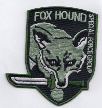 Metal Gear Fox Hound Special Force Group green