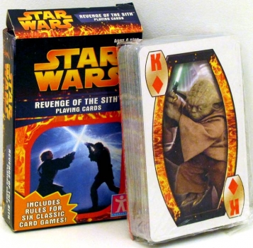 "Star Wars ""Revenge of the Sith""-Spielkarten"