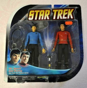 TOS Doppelpack Mr. Spock / Scotty (Diamond Select)