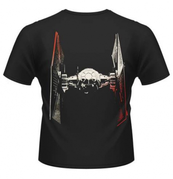 "T-Shirt: ""Tie Fighter approach"""