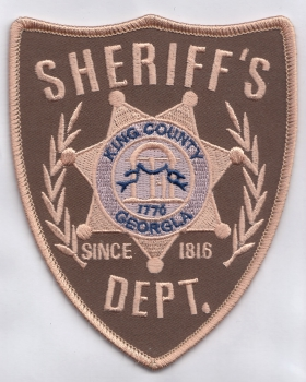 The Walking Dead King County Sheriffs Dept.