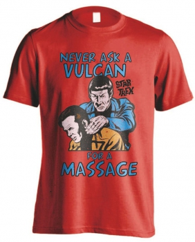 Star Trek T-Shirt Vulcan Massage