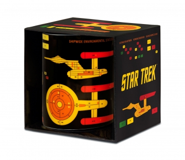 Star Trek Tasse Starship Graph