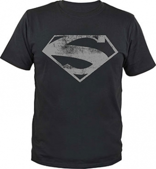 "T-Shirt ""Superman-Logo black"""