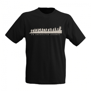 "T-Shirt: ""Unexpected journey"""