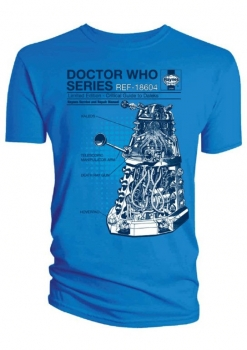 "T-Shirt: ""Dalek Tech"""