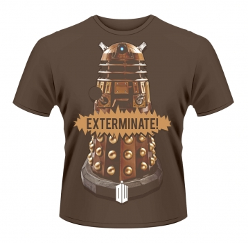 "T-Shirt: ""Gold Dalek"""