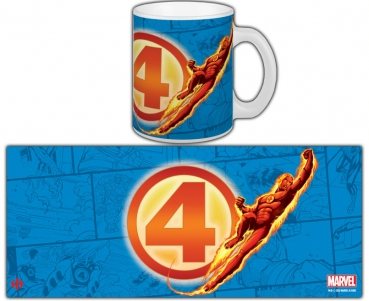 "Tasse ""Fantastic Four - Human Torch"""