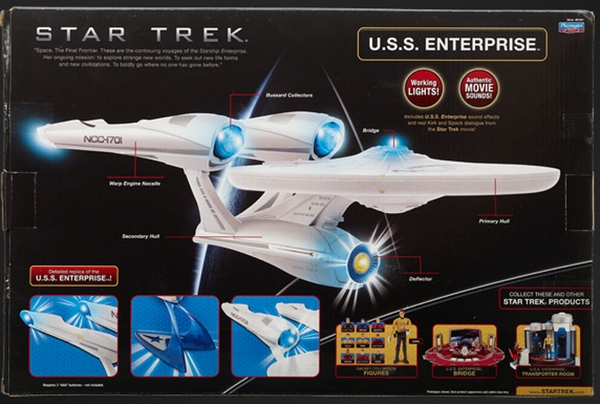 U.S.S. Enterprise NCC-1701 Star Trek 11/12-Version (Playmates)