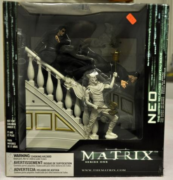 The Matrix Reloaded - Chateau Scene Box Set