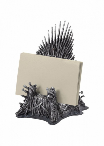Game of Thrones Visitenkarten-Halter Eiserner Thron 11 cm