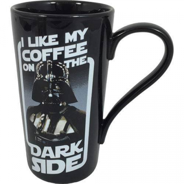 "Latte-Macchiato Tasse ""Dark Side"""