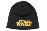 "Wollmütze / Beanie ""Star Wars Gold Text"""